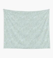 Patch lily pad heart pattern Wall Tapestry