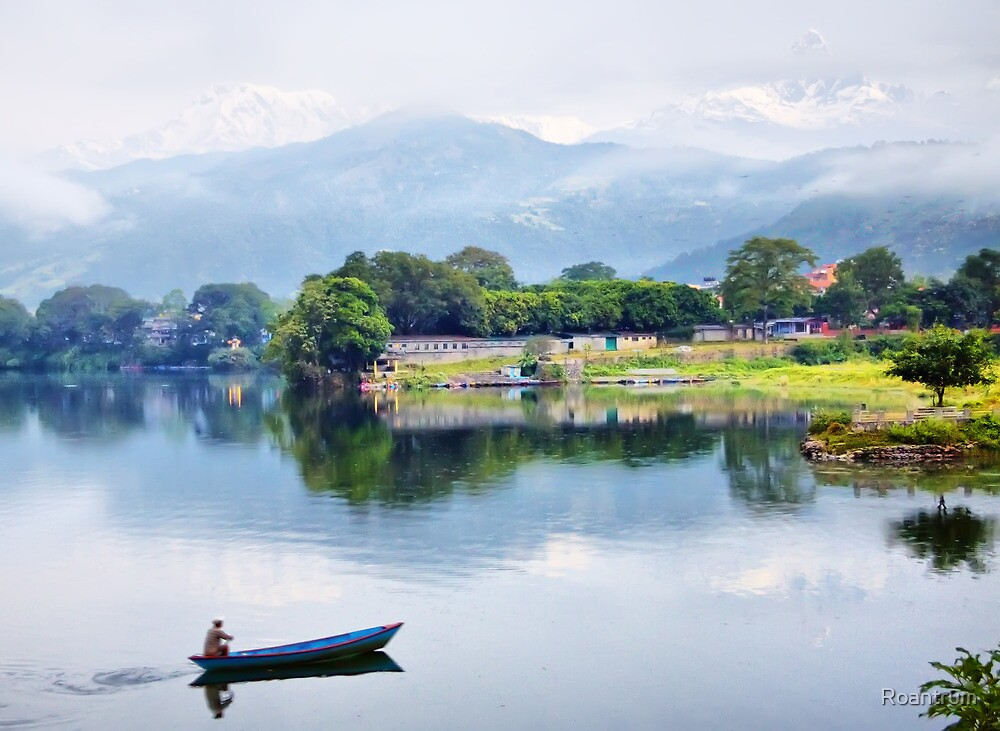 Early Morning at Pokhara by Roantrum
