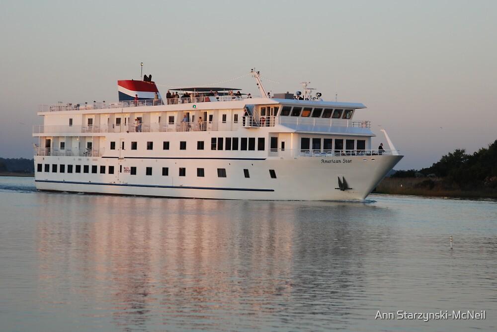 American Star Cruise Ship by Ann Starzynski-McNeil