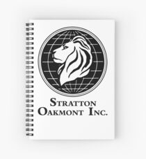 The Wolf of Wall Street Stratton Oakmont Inc. Scorsese Spiral Notebook