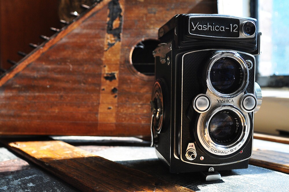 Vintage Well-Worn Yashica by April Anderson