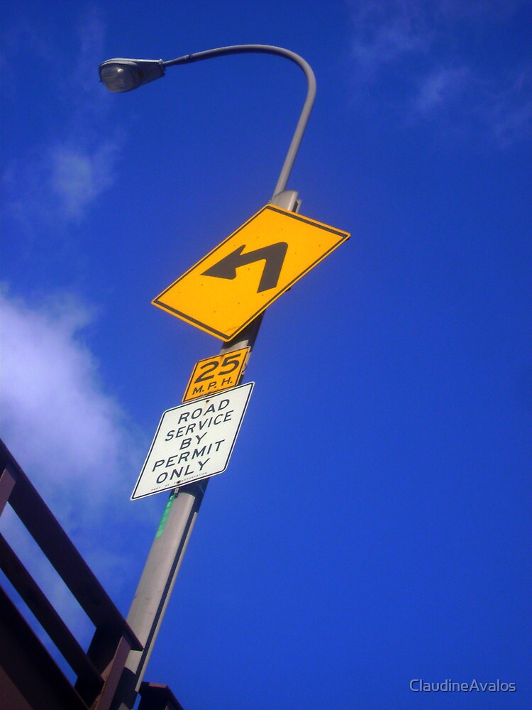 Street sign by ClaudineAvalos
