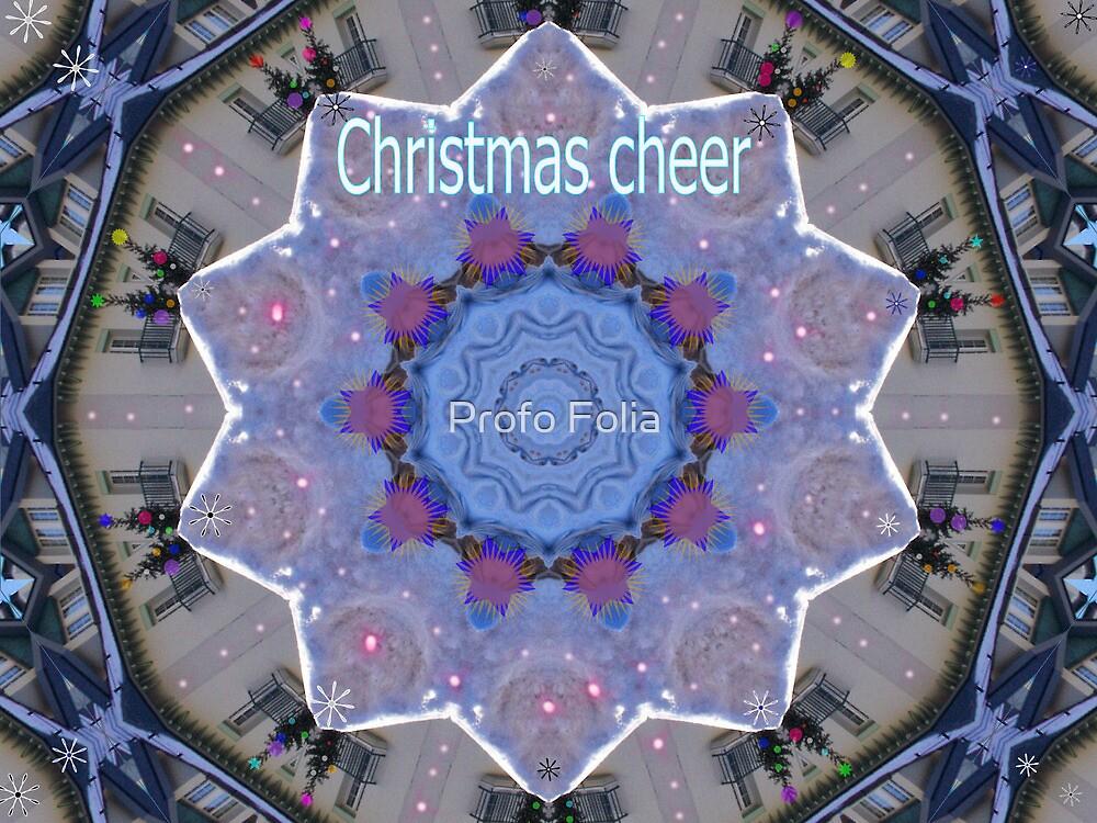 Christmas cheer card by Profo Folia
