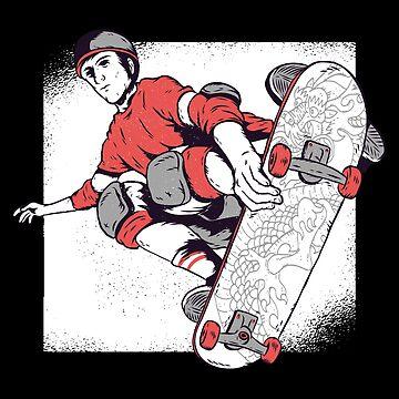 Skater Old School by soondoock