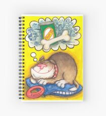 Dogdreams Spiral Notebook