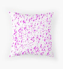 Purple Rain Throw Pillow