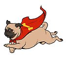 Super Pug by Nathan Anderson