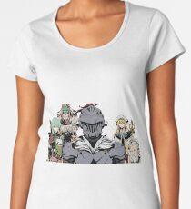Camiseta premium de cuello ancho Goblin Slayer 5