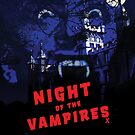 Night of the Vampires movie poster by hidden-design
