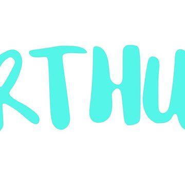 Arthur - light blue by FTML