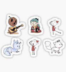 Hilda Character Stickers Sticker