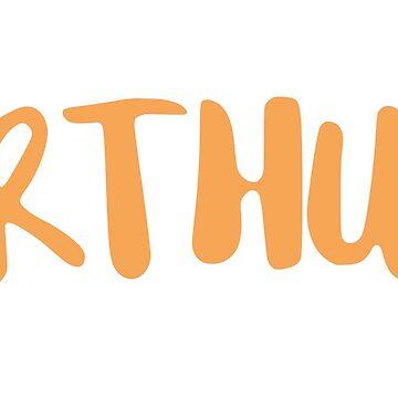 Arthur - orange by FTML
