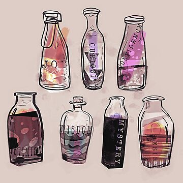 Emotion Potions by minniemorrisart