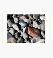 Sand Pebbles Art Print