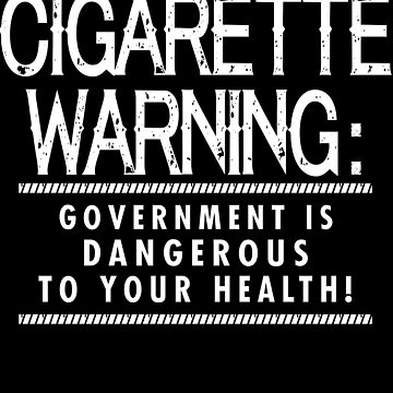 Cigarette Warning by jzelazny