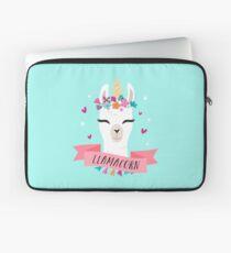 Llamacorn   Magical Llama Unicorn Laptop Sleeve