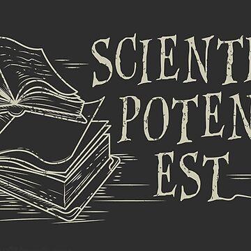 Scientia potentia est by ninthstreet