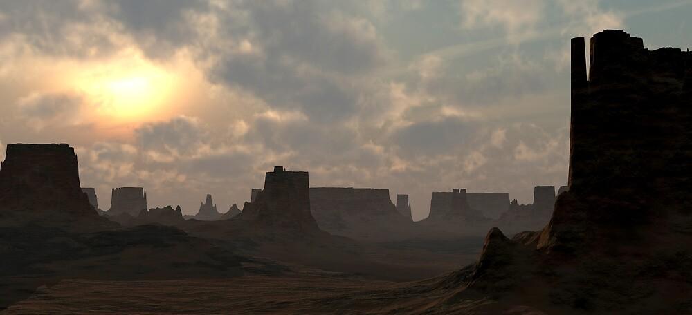 Desert Morning by Ostar-Digital
