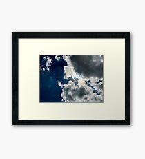 Sun Through the Clouds 1 Framed Print
