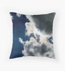 Sun Through the Clouds 1 Throw Pillow