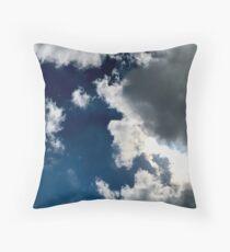 Sun Through the Clouds 2 Throw Pillow