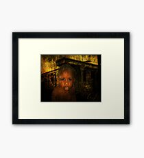 Who will read my poems? Framed Print