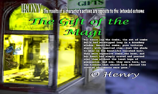 the gift of the magi irony examples