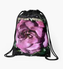 Winter Park Baby Pink Rose Drawstring Bag