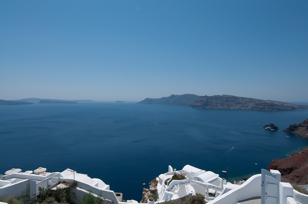 The Cliffs of Oia by philclarke