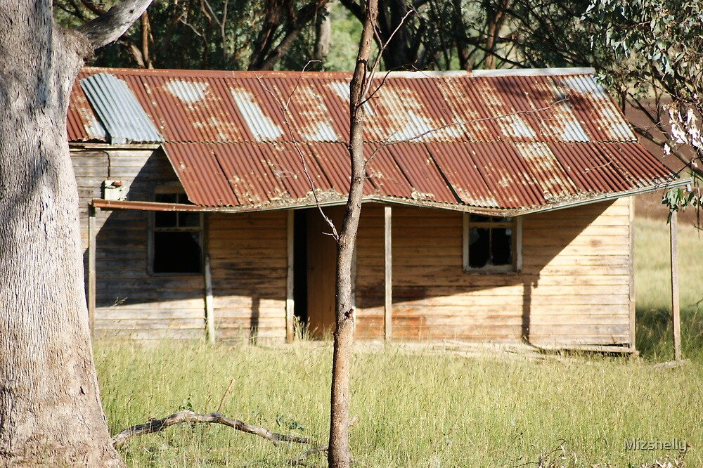 Old Pioneer House  Warrah Creek NSW Australia by Mizshelly