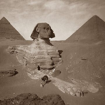 Great Sphinx Of Giza Egypt  by warishellstore