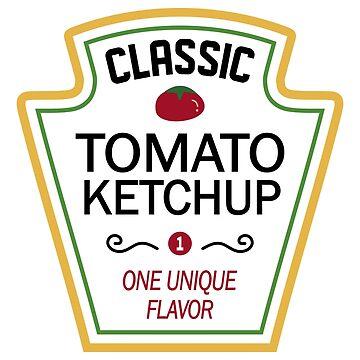 Heinz Classic ketchup Condiments Halloween Costume TShirt by ravishdesigns