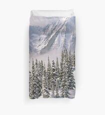 Winter Mountain Landscape - Forest - Frozen Duvet Cover