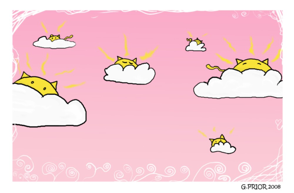cloudcats by therealgame