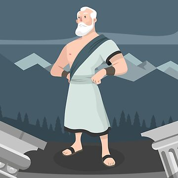 Socrates Cartoon by tato69