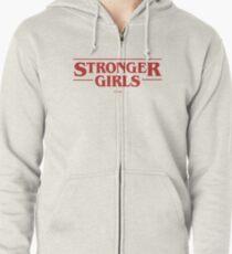 stärkere Mädchen Kapuzenjacke