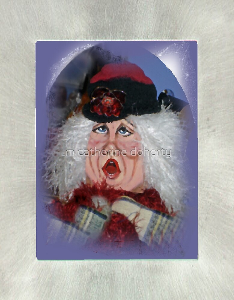 Vintage Caroler by m catherine doherty