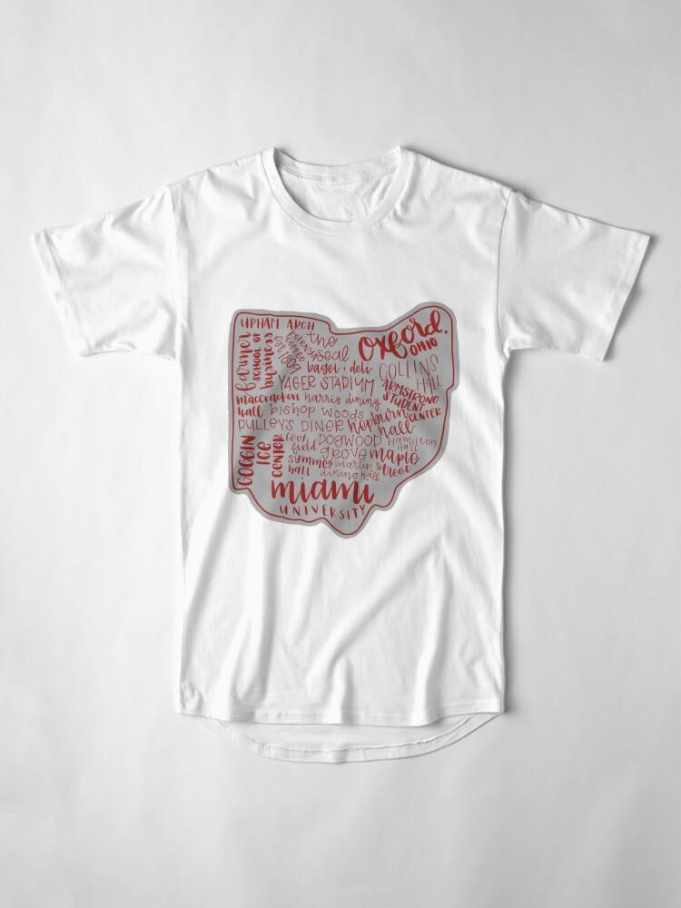 Alternative Ansicht von Miami University Ohio Kunstdruck Longshirt