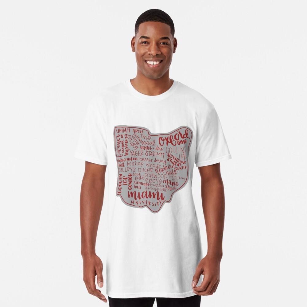 Miami University Ohio Kunstdruck Longshirt