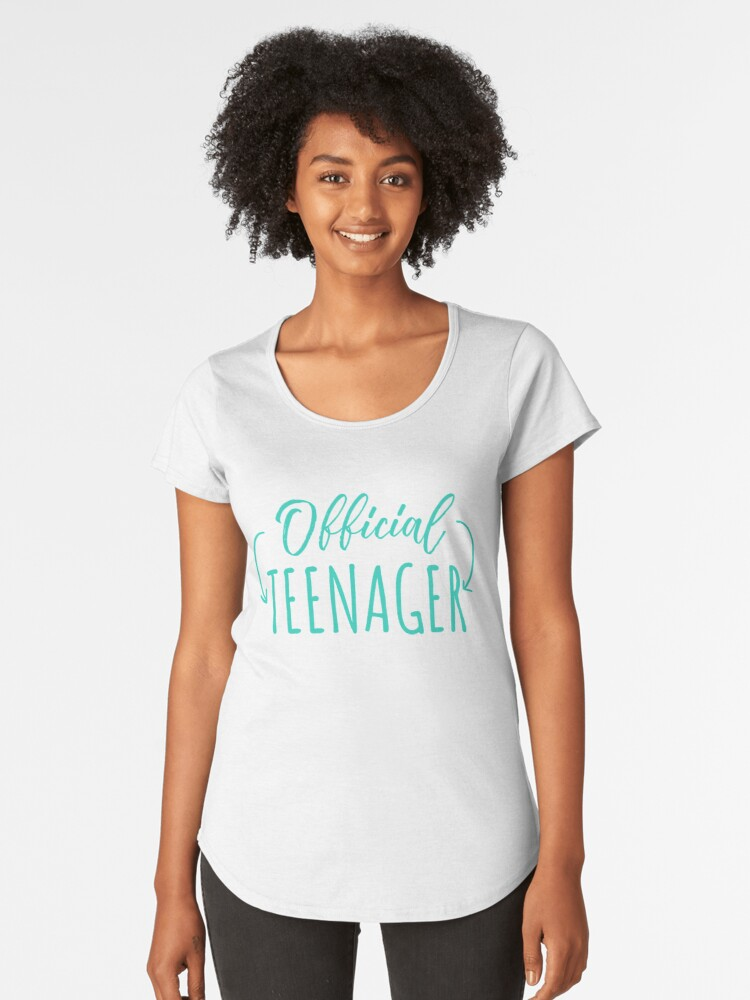 Official Teenager Gift Birthday Party Girl 13 Thirteen Years