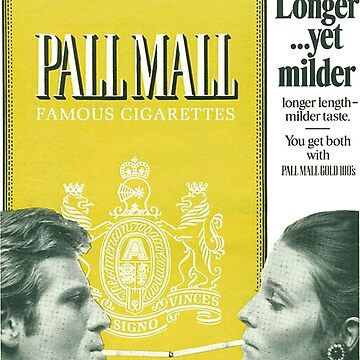 Pall Mall Cigarette Vintage Advertisement by ray-bolt