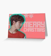 NCT HAECHAN- CHRISTMAS CARD Greeting Card