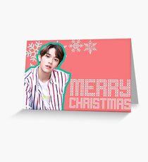 NCT LUCAS- CHRISTMAS CARD Greeting Card