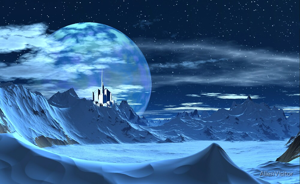 Ice Castle by AlienVisitor