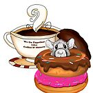 Donut and Coffee Art by Julie Townsend