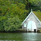 A Charming Boathouse by Sandra Fortier