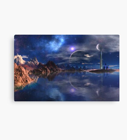 Watchers on the Rim Canvas Print