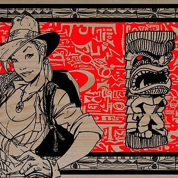 Tiki Hunter by Kaaawasaki