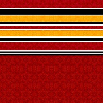 Multi-colored striped by fuzzyfox