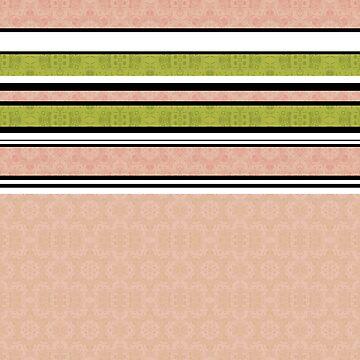 Multi-colored striped 3 by fuzzyfox